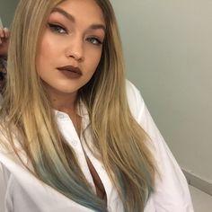 Matte brown lipstick is back in BIG way