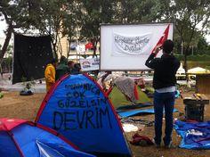 Gezi toparlanmaya çalışıyor -'Gezi Parkı' is trying to recover 12.06.2013