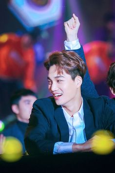 Kai - 160114 25th High1 Seoul Music Awards Credit: Glimmer Kai. (제25회 하이원 서울가요대상)