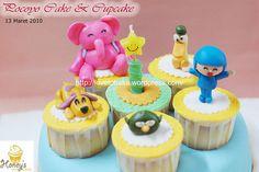 Pocoyo Cake & Cupcake 2 by Honey's Mini Cakes, via Flickr