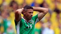 Republic of Ireland striker Walters waits for news on Achilles injury