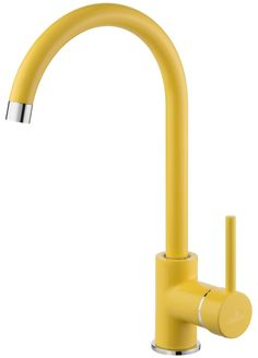 BATÉRIE DO KUCHYNE : MILIN drezová vodovodná batéria žltá (BEU Y62M) - www.rasub.sk | Velkoobchod, maloobchod | Kúpelne | Obklady | Vaša kúpelňa je u nás, objednajte si ju