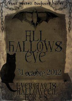 """Everyday is Halloween for Us, Edtions II 2012  Coffin Rock et mika & les GLOKdoll vous présentent """"Everyday is Halloween for Us"""", un collectif éphémère de Créateurs pour un événement annuel. Chaque samedi d'Octobre jusqu'au 31, des créations inédites autour du thème d'Halloween vous seront présentées!! Plus d'infos sur notre page ici: https://www.facebook.com/coffin.glok"""
