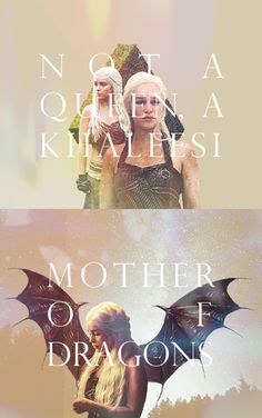 Not a queen, a Khaleesi #got #asoiaf #daenerystargaryen