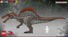 Lego Jurassic Park, Jurassic World Dinosaurs, Jurassic Park World, Dinosaur Sketch, Dinosaur Drawing, Dinosaur Art, Lego Dinosaurus, Godzilla Figures, Jurrassic Park