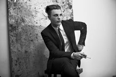 Actor Michael Pitt photographed by Mason Poole and styled by Christian Stroble for the April 2014 issue of Flaunt magazine.