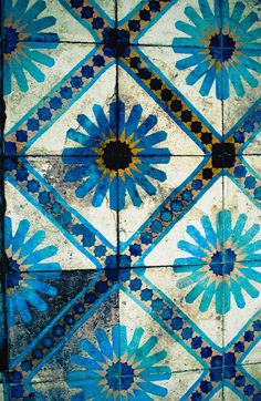 Perfect old moroccan tiles