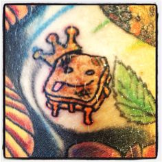 Grilled cheese I tattooed on Raul