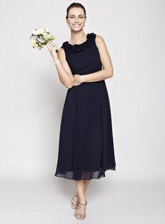 Navy Nancy Bridesmaid Dress