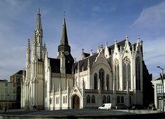 Roubaix - Saint-Martin church - Nord dept. - Nord-Pas-de-Calais region, France      ....commond.wikimedia.org