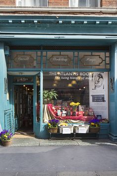 The Atlantis Bookshop, 49A Museum Street, London.