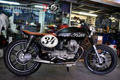 PORTELA CUSTOM CYCLES: Moto Guzzi V35