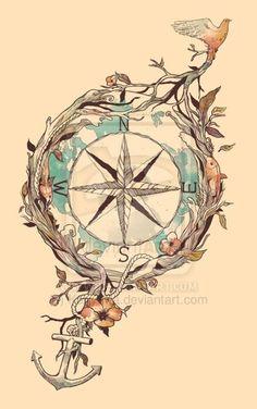 Compass by Kairy-Ma