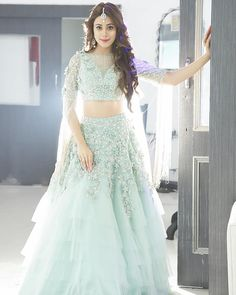 Pearl_designers Book ur dress now Completely stitched Customised in all colours For booking ur dress plz dm or whatsapp… Wedding Dresses For Girls, Indian Wedding Outfits, Bridal Outfits, Indian Outfits, Girls Dresses, Indian Attire, Indian Wear, Indian Designer Outfits, Designer Dresses
