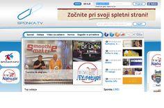 Sponka.tv web portal