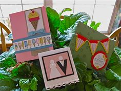 Stampin' Up!  Pennant  Punch  Jann McCollom