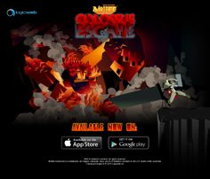 Colossus Escape by @mr_kaizen & co. is online on #iOS and #Android! #gamesinitaly #indiegames #videogames
