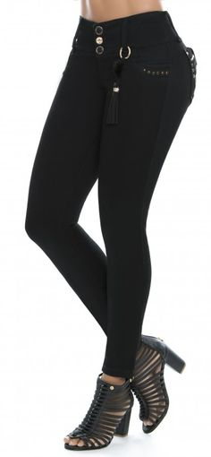 Jeans levanta cola NYE 62884 Denim Jeans, Black Jeans, Sock Shoes, Nye, Underwear, Socks, My Style, Latina, Pants