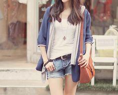 casual, cute outfit, Cute Korean Fashion, korea, Korean, seoul, kfashion, kpop fashion, girl's wear, ladies' wear, pretty, kawaii