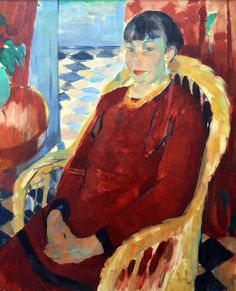 https://flic.kr/p/SaB2Km | Rotterdam (The Netherlands) - Museum Boijmans-Van Beuningen - Rik Wouters - The lady in red | Pictures by Björn Roose. Taken in the museum Boijmans-Van Beuningen, Rotterdam (The Netherlands) in February 2016.