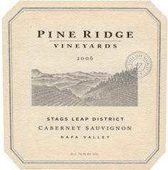 Pine Ridge Vineyards, Napa Valley Vintners, #NapaValley