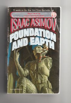 Hey, I found this really awesome Etsy listing at https://www.etsy.com/listing/167987851/isaac-asimov-foundation-and-earth-1980s