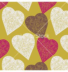 Vintage love print vector on VectorStock®