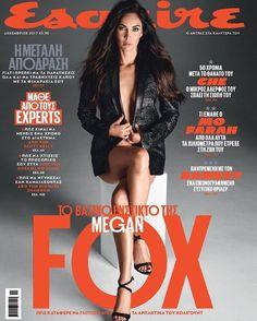Megan Fox for Esquire Greece - December 2017
