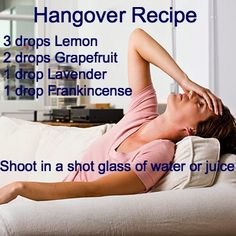 Awakened Health and Wellness: Hangover remedy http://mydoterra.com/withmelissa