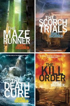 The Books that James Dashner, The Maze Runner author.  This is a storyline of our main character Thomas.