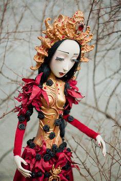 OOAK art doll Amaya