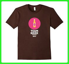 Mens Team bride Brussels 2017 Henparty T-Shirt for all Ages 3XL Brown - Wedding shirts (*Amazon Partner-Link)