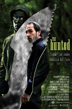 The Hunted (2003) Famous Movie Posters, Famous Movies, Tommy Lee Jones Movies, Thriller, Films, Fictional Characters, Movies, Cinema, Movie