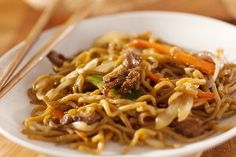Easy Asian Beef & Noodles - Ww Recipe
