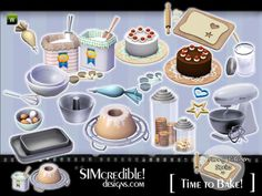 Time to Bake by SIMcredible  http://www.thesimsresource.com/downloads/1171235