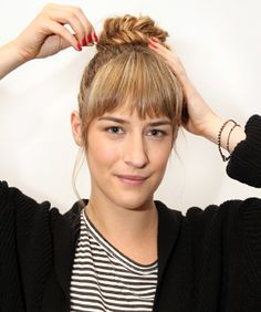 By this point you've probably mastered our basic braids and are on the hunt for some nifty new 'dos to DIY. Challenge accepted! We asked DJ Quintero, a stylist at NYC's Serge Normant at John Frieda salon, to come up with four cool and creative new...