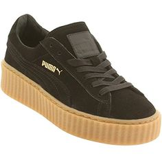 fb5a8b7c548 Puma x Rihanna Women Suede Creepers (Black) Suede Creepers