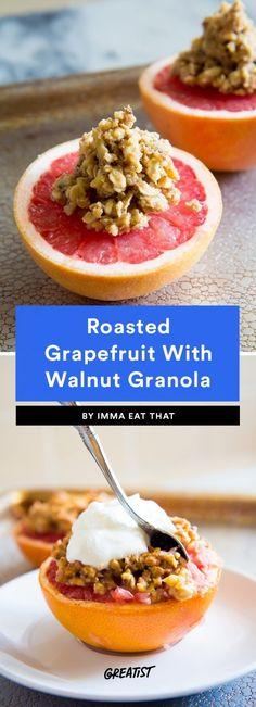 Recipes Breakfast Detox Grapefruit Recipes: 9 Healthy Ways to Enjoy the Fruit Grapefruit Recipes Breakfast, Grapefruit Recipes Healthy, Grapefruit Diet, Vegan Breakfast Recipes, Healthy Recipes, Healthy Tips, Sweet Recipes, Detox Recipes, Clean Eating Recipes