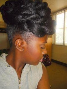 Astounding Buns Black Women And Tree Braids On Pinterest Hairstyle Inspiration Daily Dogsangcom