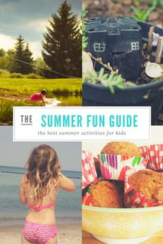 Make the most of summer with these fantastic summer activities, crafts and recipes. Your kids will thank you and you'll make dozens of happy memories. Backyard Obstacle Course, Backyard Swings, Backyard For Kids, Backyard Games, Summer Activities For Kids, Water Activities, Summer Kids, Outside Games, Summer Bucket Lists