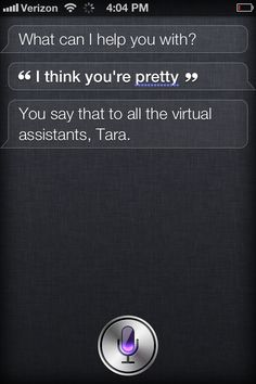 I think Siri is on to me...