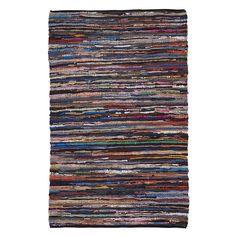 Vloerkleed Leer Stripe Medium | Vloerkleden | Sissy-Boy Online store
