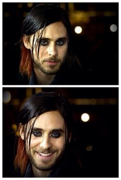 Jared Leto. Great look with the eye-liner, I love it!!!!