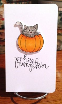 Adorable card created by Jana Millen using Simon Says stamp Exclusives.  October 2013