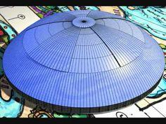 Retractable Dome Indoor Waterpark