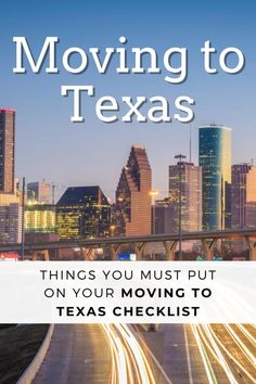 Moving to Texas? Whether it's moving to Houston, Dallas, Fort Worth or somewhere else, here are things you must have on your moving to Texas checklist. These are things that are different in Texas than anywhere else. Moving To Dallas, Moving To Texas, Best Places To Move, Places To See, Texas Vehicle Registration, Texas Girls, Electrical Plan, Moving Tips, Dallas Texas