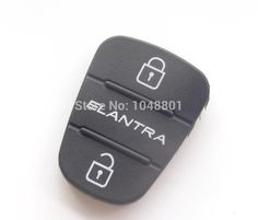[Visit to Buy] Replacement 3 button key Pad for Kia Hyundai Elantra Button Remote flip Key Shell Blank Fob Cover Rubber Pad #Advertisement