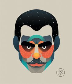 Big Brother on Behance - Bruder Drawing Cartoon Faces, Big Brother, Goblin King, Fiction Movies, Flat Illustration, Trees To Plant, Great Artists, Vector Art, Art Projects