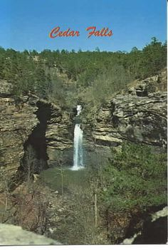 Petit Jean State Park, Arkansas... camped here.