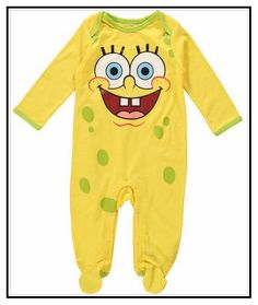 Spongebob Baby Clothes Uk